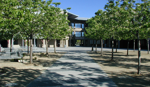 COURTYARD OF DEMERGASSO-BAVA HALL