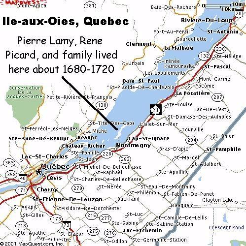 St Lawrence River Location